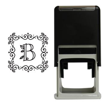 Ivy Monogram Square Stamp Supervalue Checks