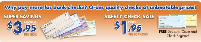 Super Savings! Safety Check Sale!