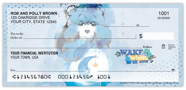 care bears u2122 watercolor checks