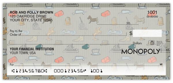 Vintage Monopoly Checks Supervalue Checks