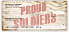 Proud of our Soldiers Checks