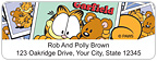 Garfield Address Labels