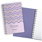 Chevron Purple Notebook