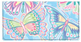 Psychedelic Butterflies Checkbook Cover