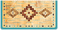 Gail Marie Southwest Checkbook Cover