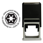 <i>Star Wars</i>&#153; Galactic Empire Round Stamp