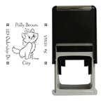 Marie Square Stamp