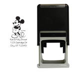 Classic Mickey Mouse Square Stamp