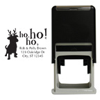 Holiday Dog Square Stamp