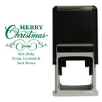 Merry Christmas Square Stamp